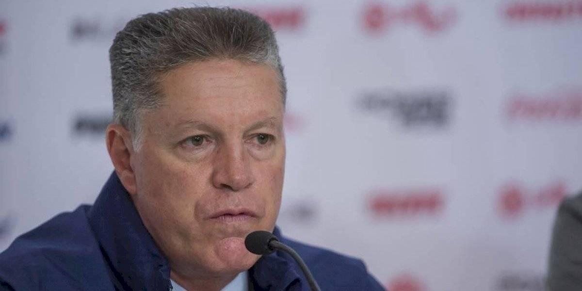 'Hay que dar la cara, el equipo no está funcionando y todos somos responsables': Ricardo Pélaez