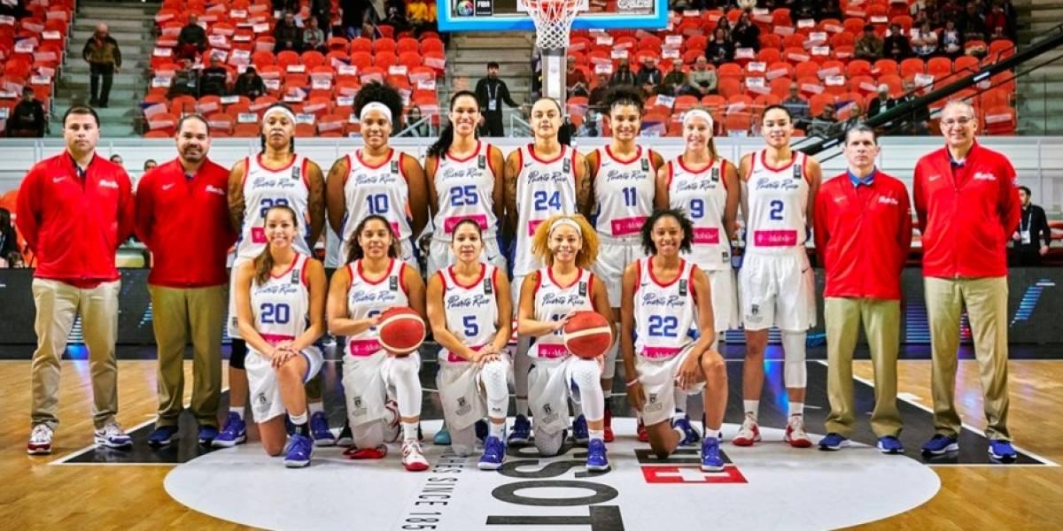 Puerto Rico clasifica a olimpiadas de baloncesto femenino