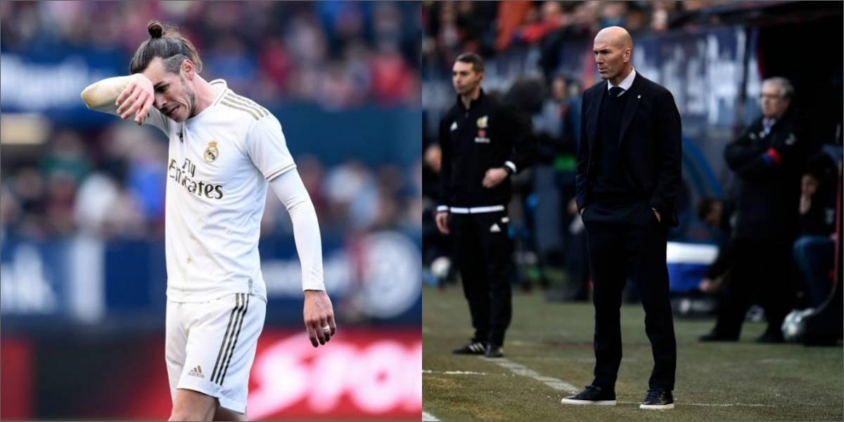 """Zidane: """"Quieren que tengamos un problema con Bale, pero no lo tenemos"""""""