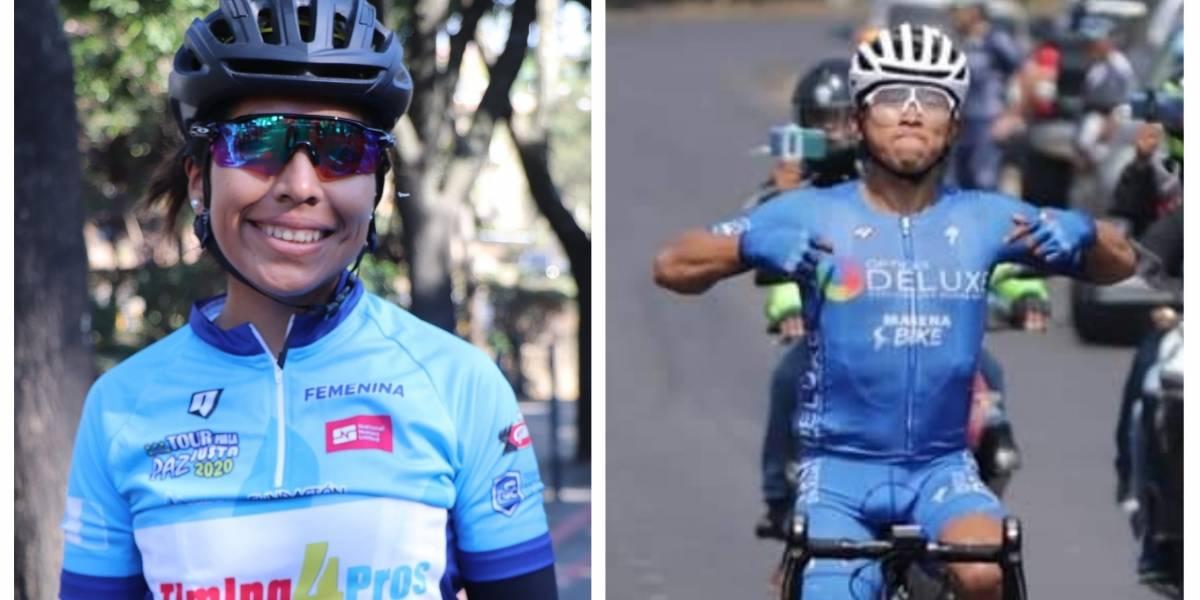 Gaby Soto y José Canastuj son campeones del Tour por la Paz Justa 2020