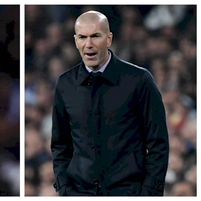 Zidane lo estrella en Valdebebas y acaban sacándose uns selfie