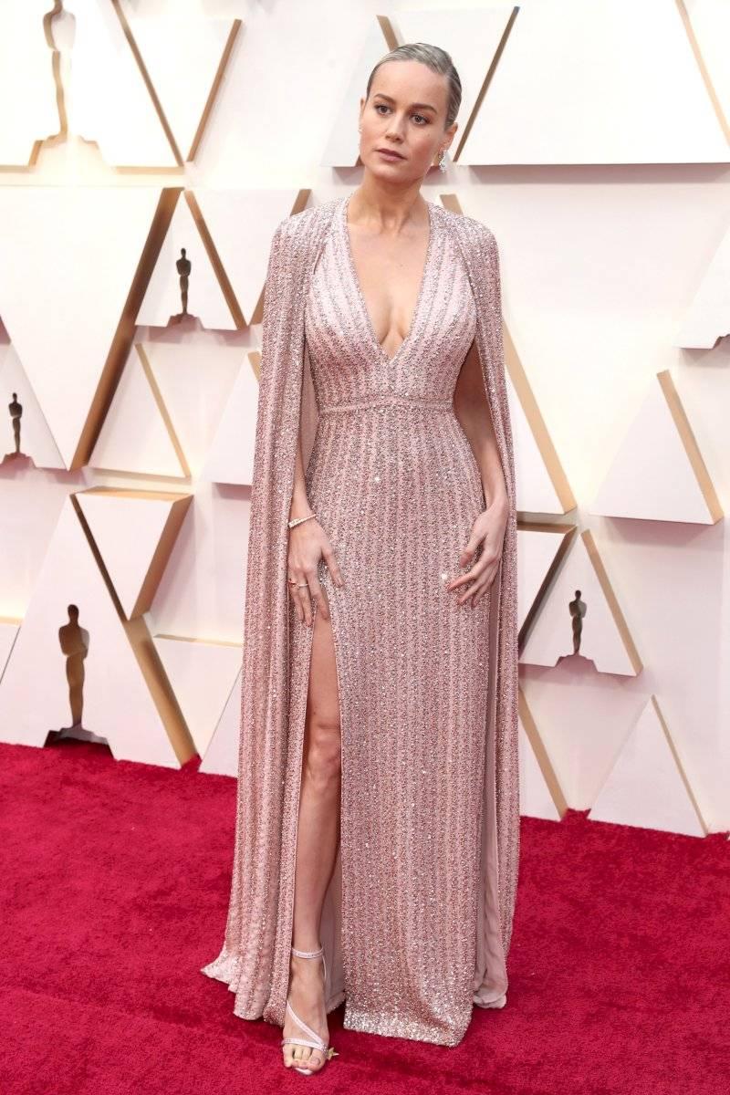 El dedo del pie de Brie Larson en los Oscar 2020 le jugó una mala pasada EFE