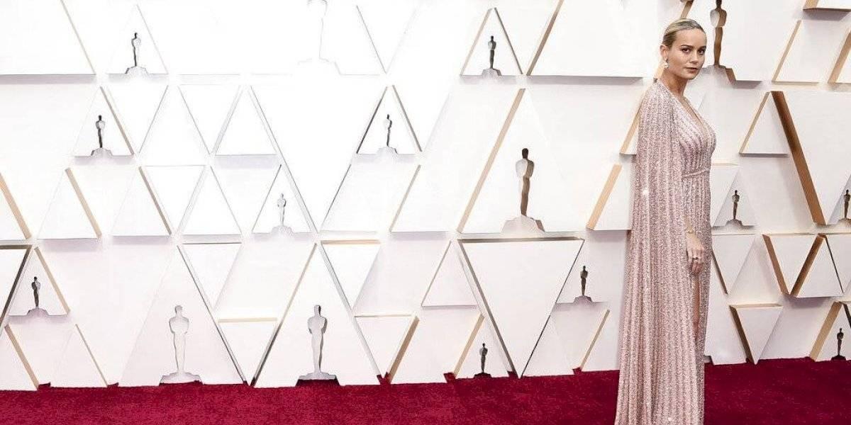 """Más protagonismo que """"Parasite"""": por qué el pie de Brie Larson revolucionó la alfombra roja de los Oscar"""