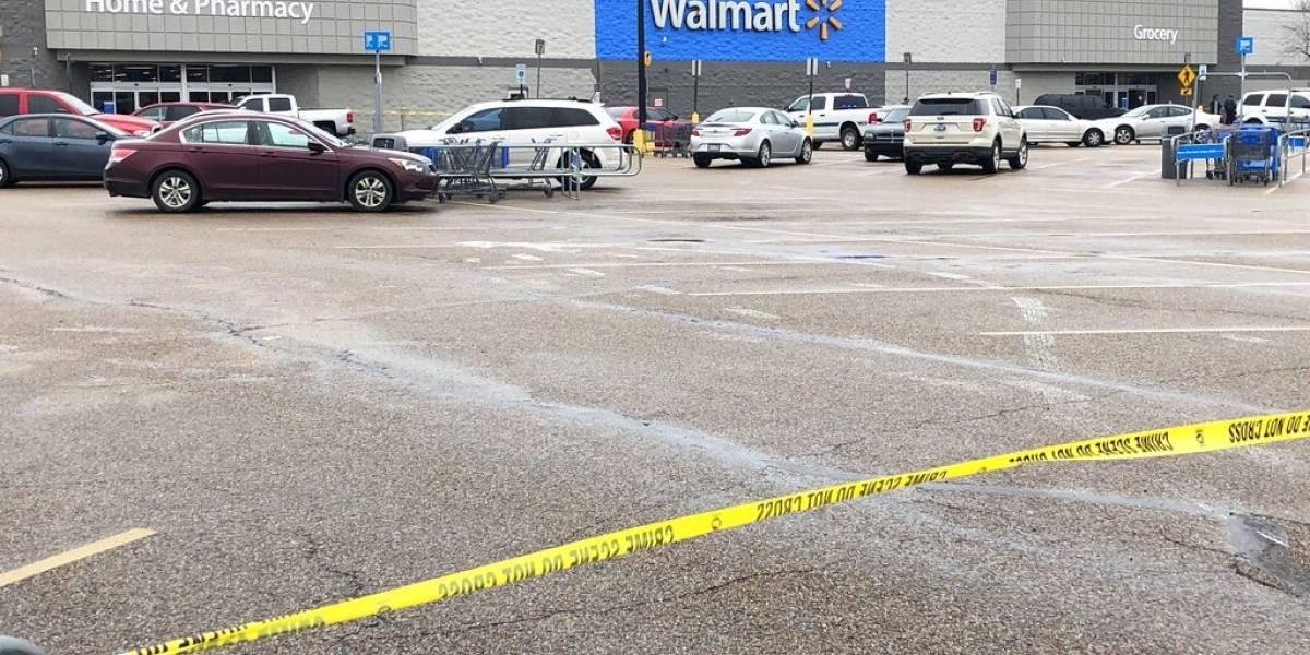 Balacera en Walmart deja un muerto y dos heridos en Arkansas