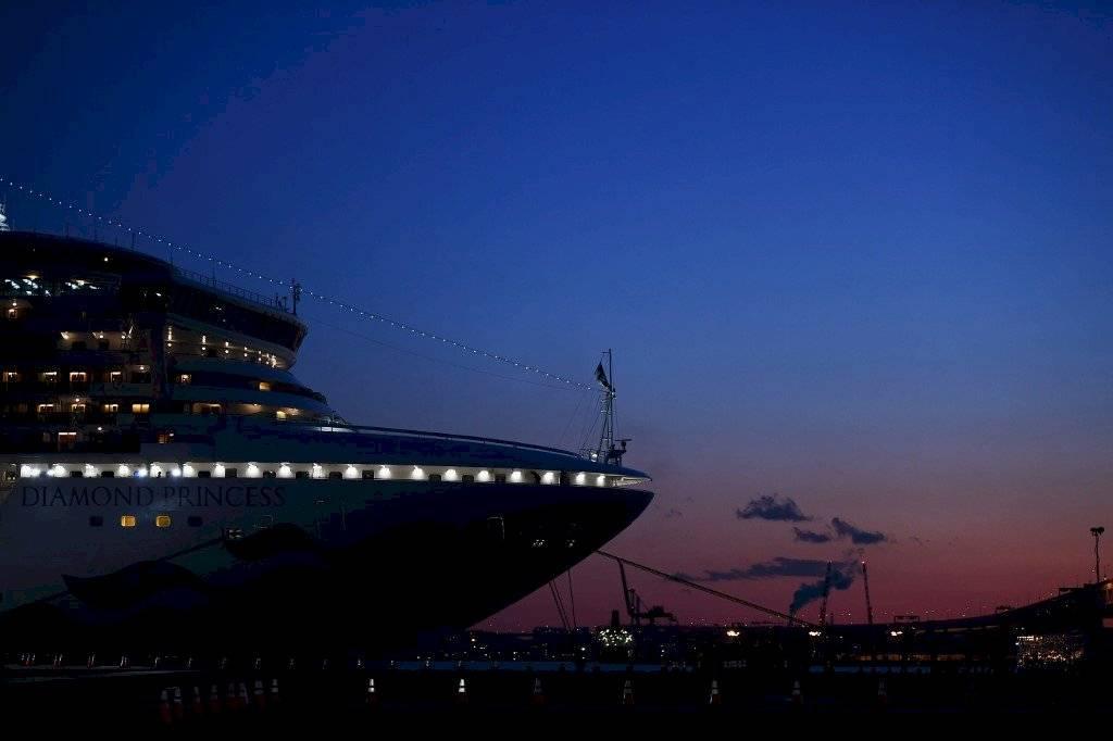 Crucero puesto en cuarentena en Japón
