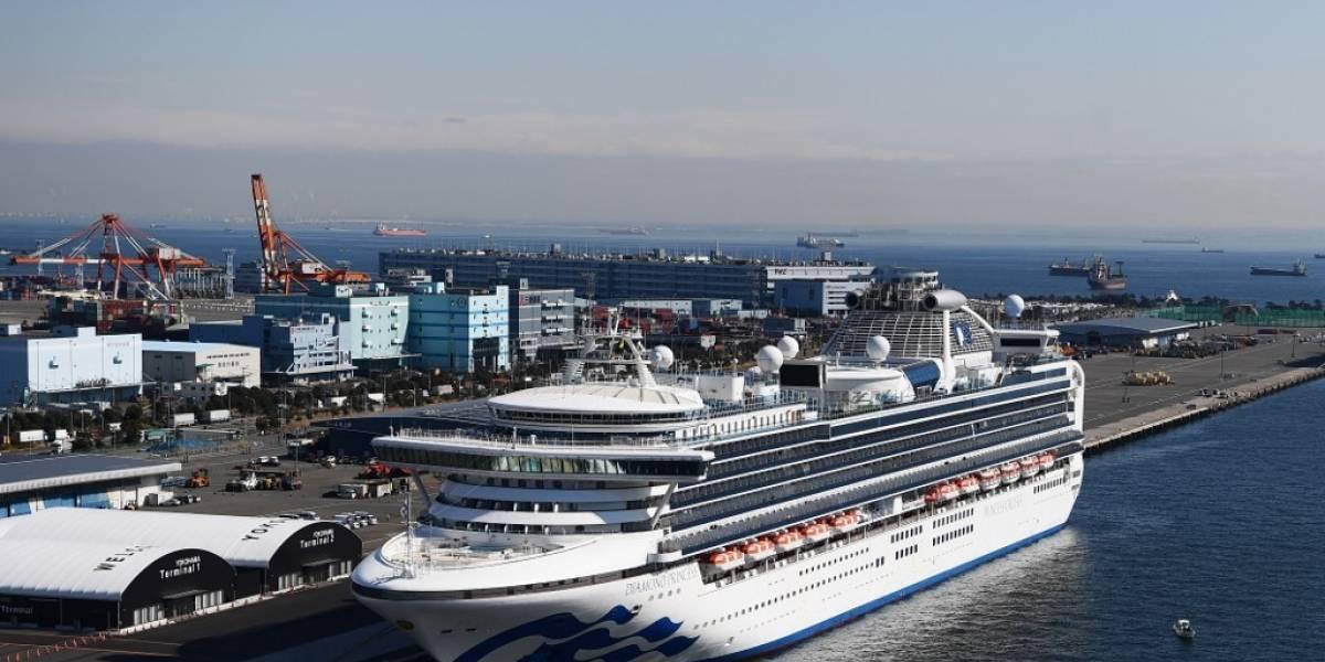 Aumenta número de casos de coronavirusen crucero en cuarentena en Japón
