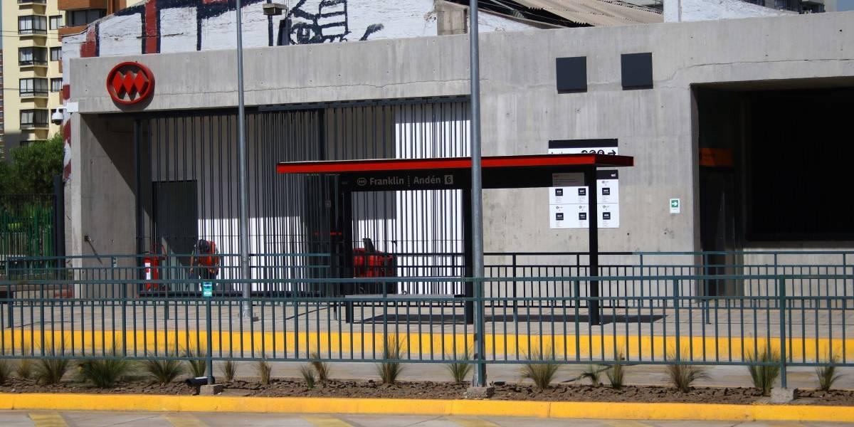 Este miércoles estará operativa nueva Estación Intermodal Franklin y ya se planifican nuevos puntos de intercambio modal