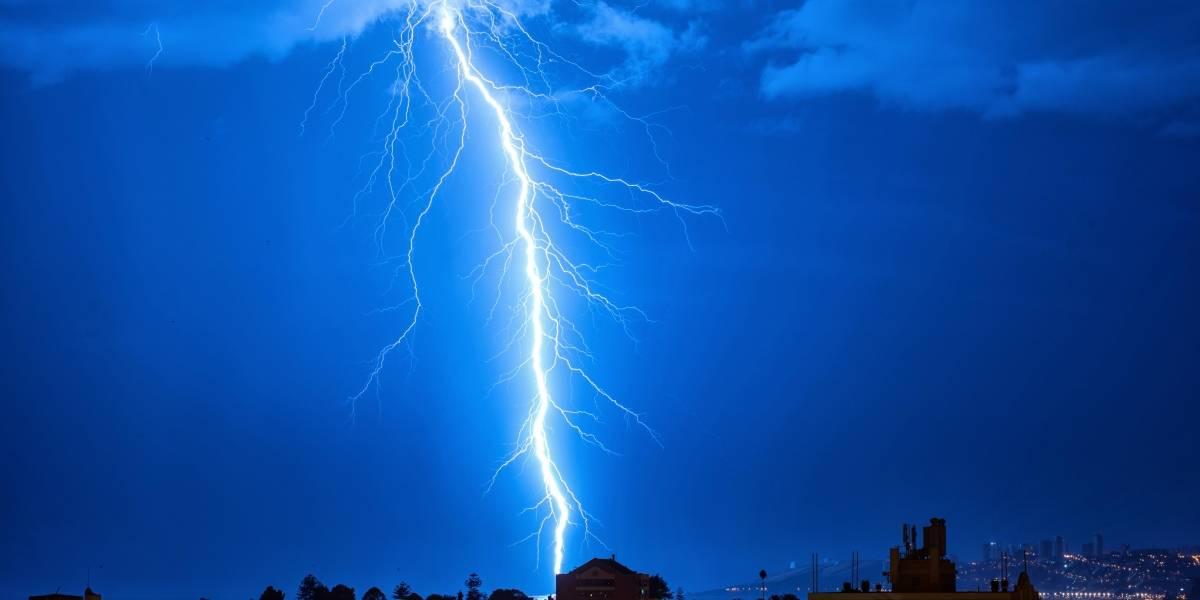 Atención: decretan alerta preventiva por tormentas eléctricas en La Araucanía y Los Ríos