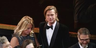 Brad Pitt en los Premios Óscar