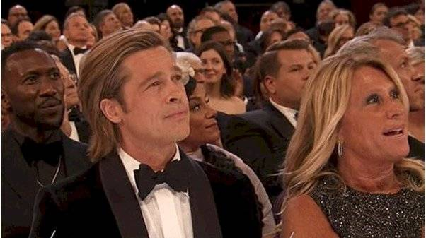 Brad Pitt junto a Cynthia Pett-Dante