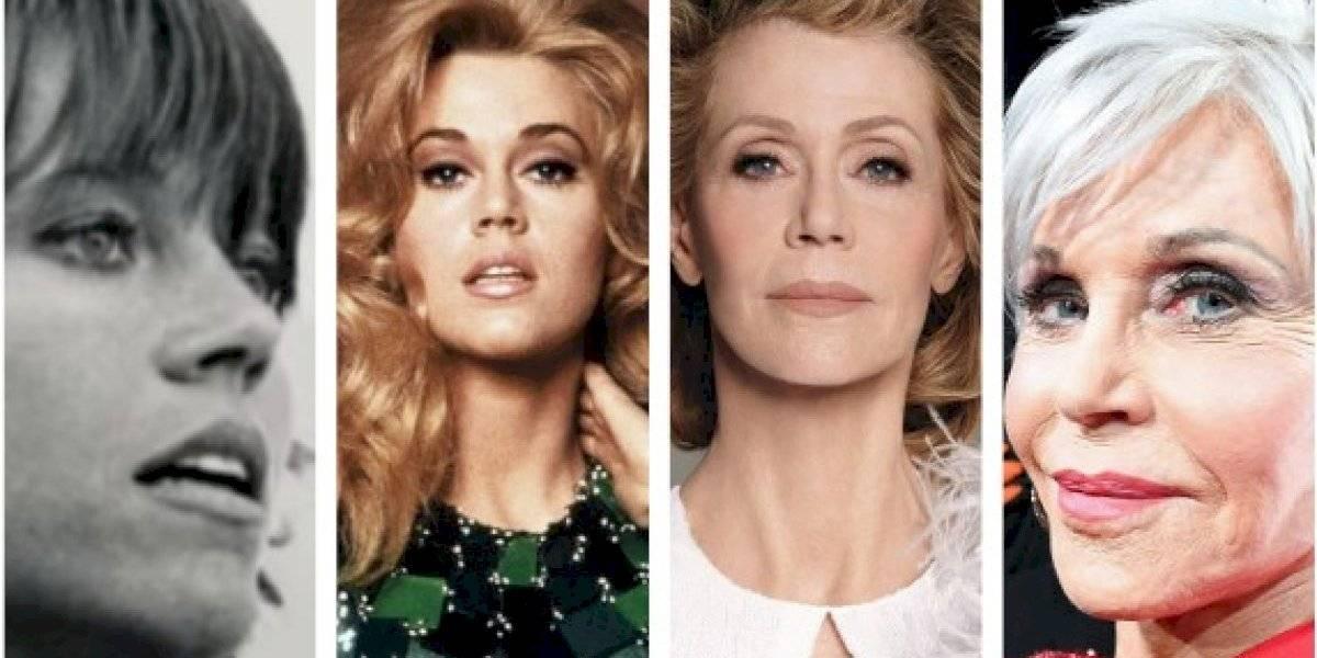 Jane Fonda demuestra que hay límites en las cirugías plásticas