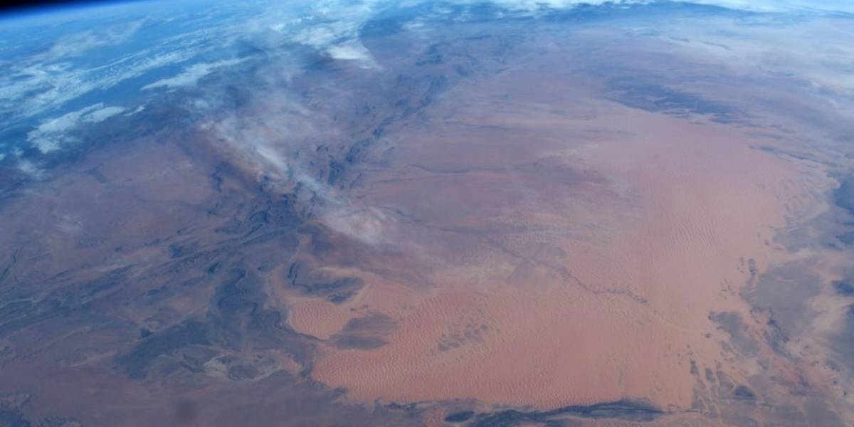 Astronauta italiano divulga imagens impressionantes do planeta Terra