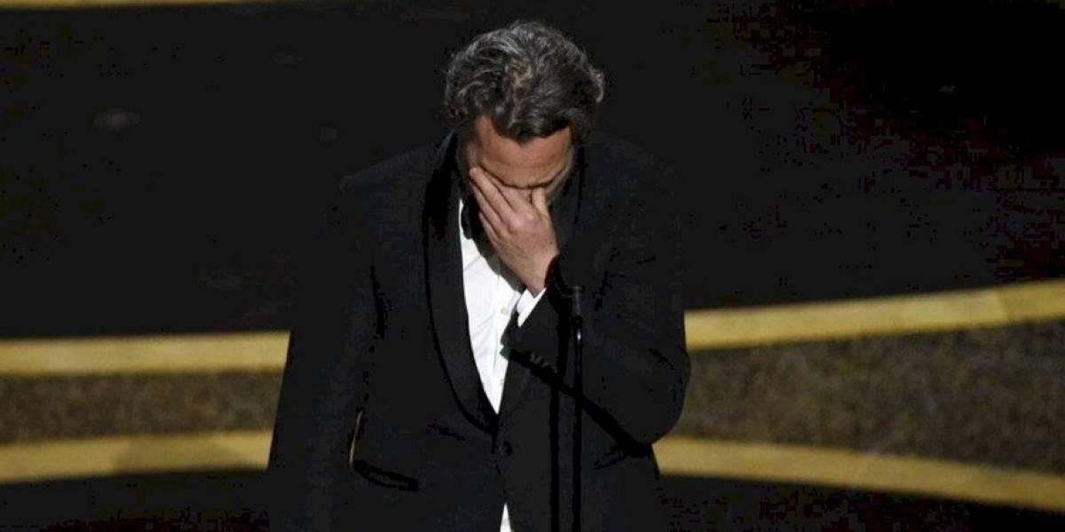 Potente discurso de Joaquin Phoenix en los Óscar sobre la desigualdad
