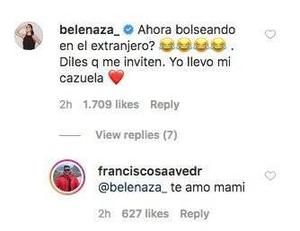 Pancho Saavedra y Belén Mora