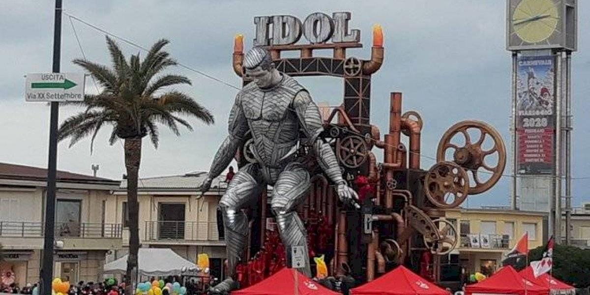 VIDEO. El imponente robot de 20 metros de altura en honor a Cristiano Ronaldo