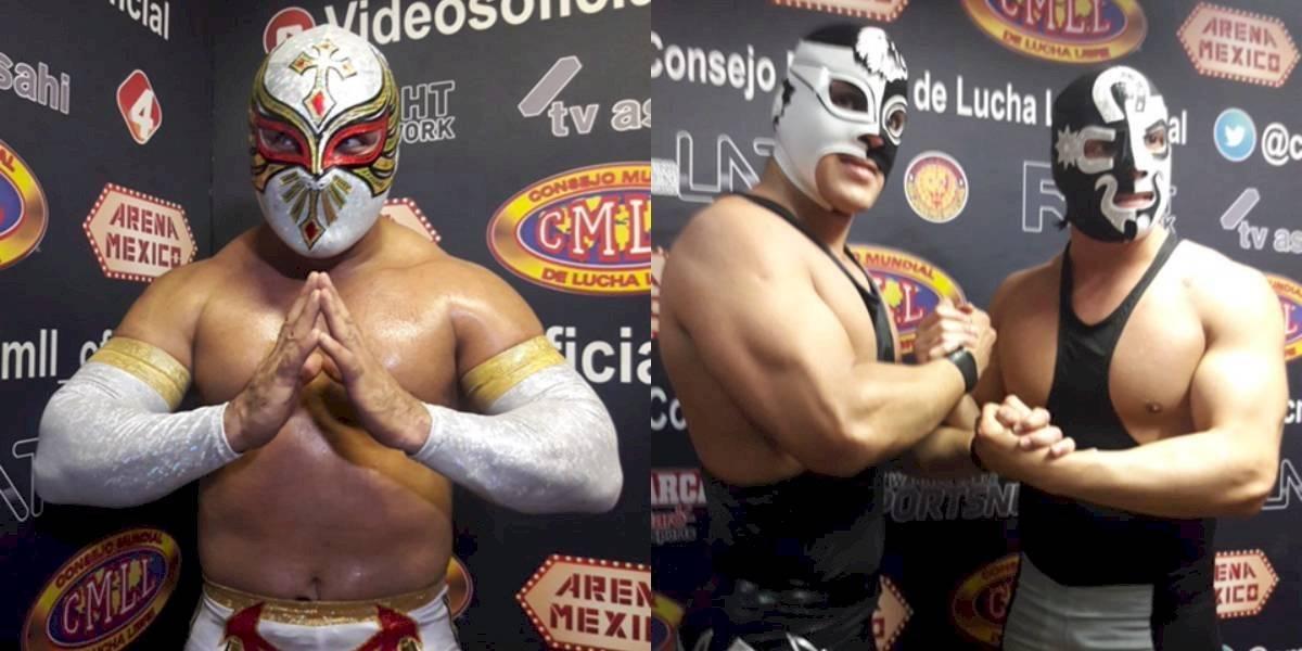 Explosivo choque se vivirá en la Arena México con duelo entre Carístico y Sansón