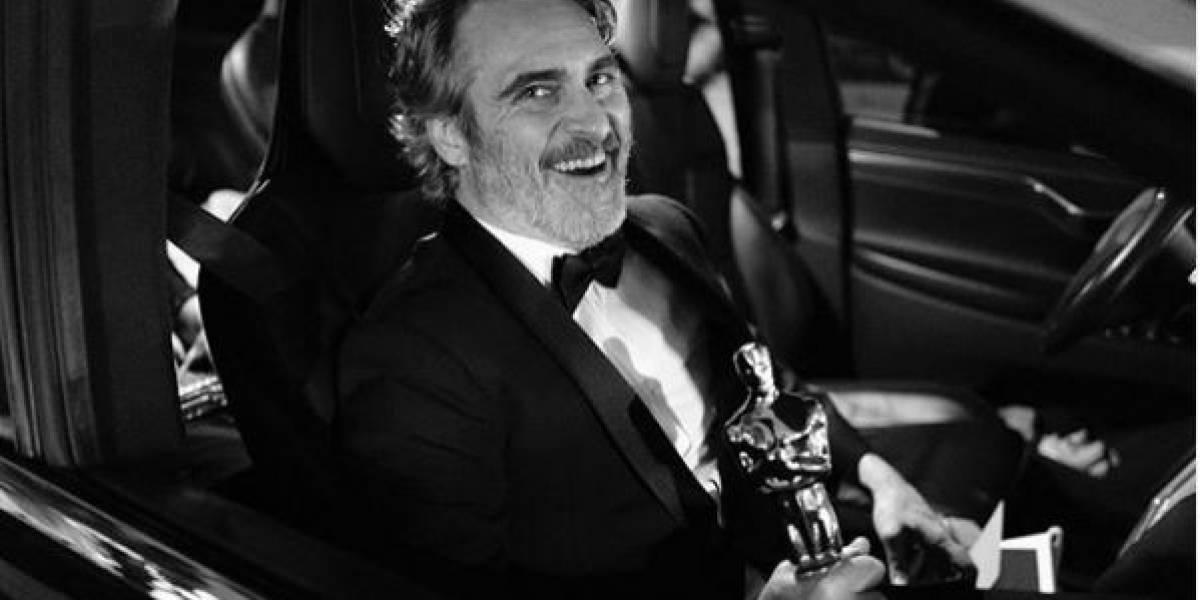 Después de los Oscars: La foto de Joaquin Phoenix con su novia que a muchos conmueve