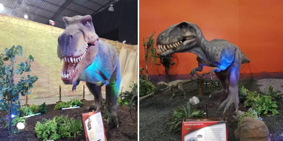 'Mundo Jurásico' en Quito, dinosaurios a escala real