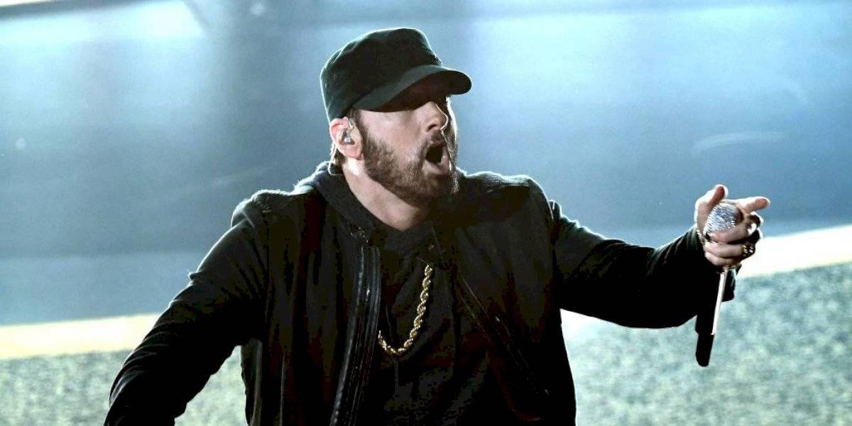 Eminem irrumpió en la gala de los Oscars e hizo alucinar a todos
