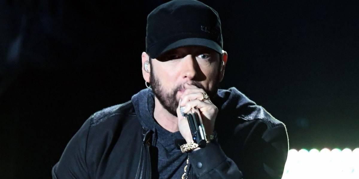Eminem soprende al cantar en los Oscar 17 años después de ganar el premio a la mejor canción original