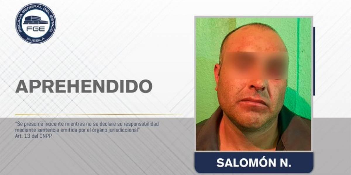 Aprehenden a presunto autor de feminicidio en Puebla