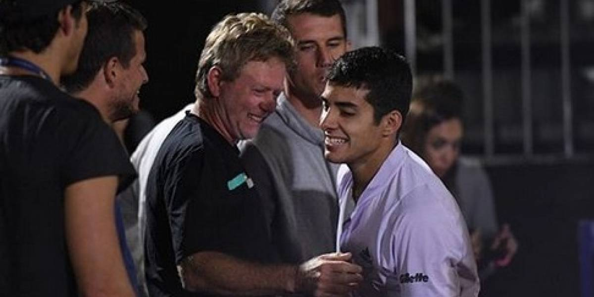 """El Gringo Schneiter explica sus lágrimas por el título de Garin en Córdoba: """"Nos gritaron todo el partido, dijimos que había que ganarlo como fuera"""""""