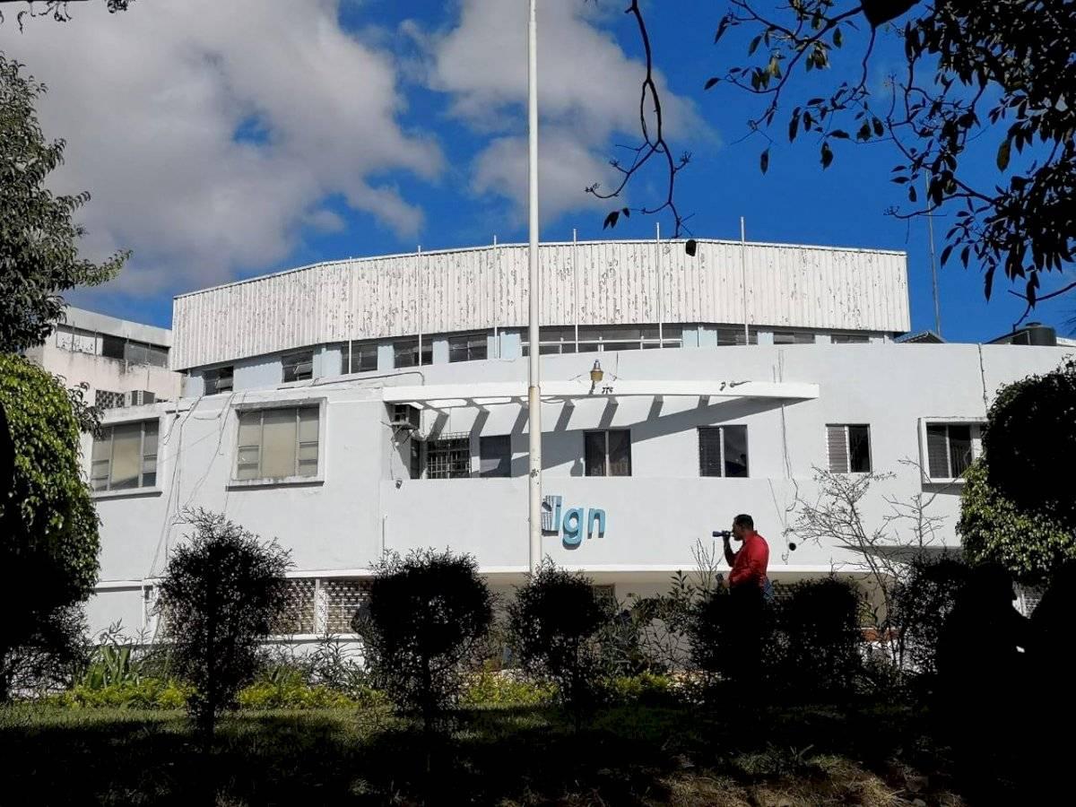 Sede del Instituto Geográfico Nacional.