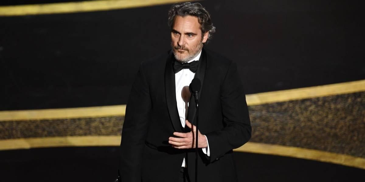 """Joaquin Phoenix en los Oscars: """"Nos hemos desconectado del mundo natural"""""""
