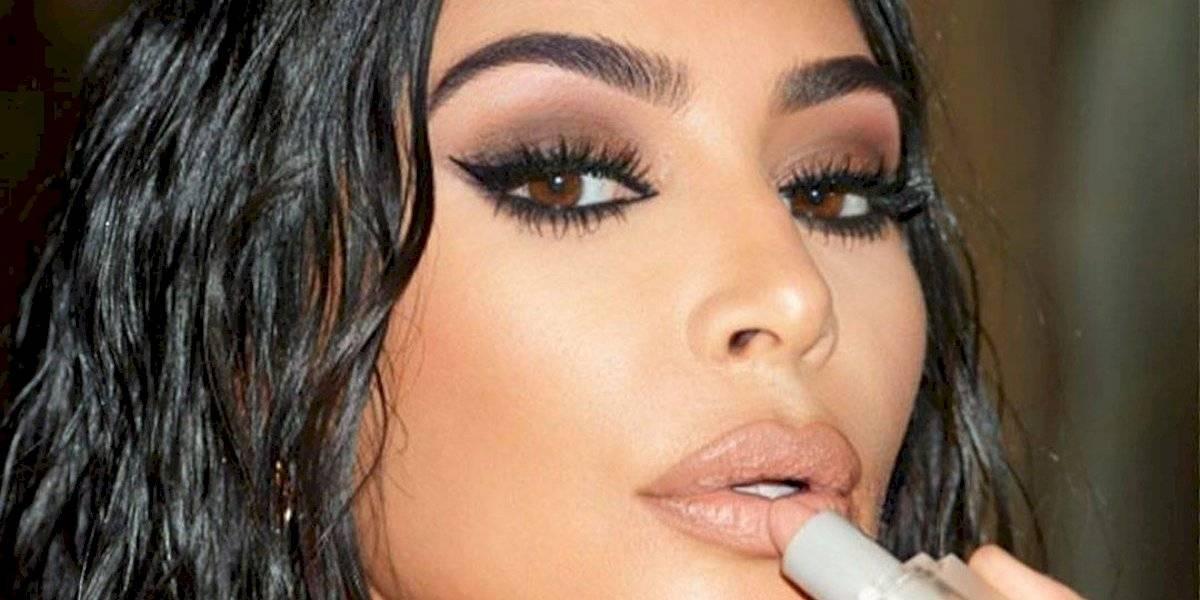 O incrível look de Kim Kardashian para o Oscar 2020
