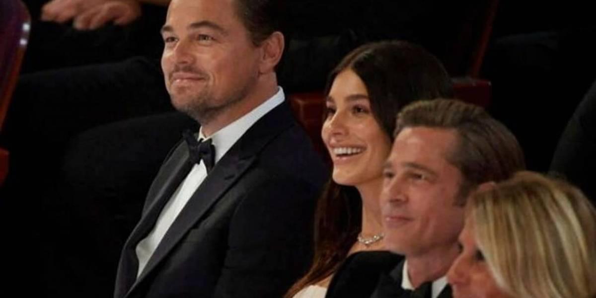 ¿Quién es la afortunada joven que se sentó al lado de Leonardo DiCaprio y Brad Pitt en los Oscar 2020?