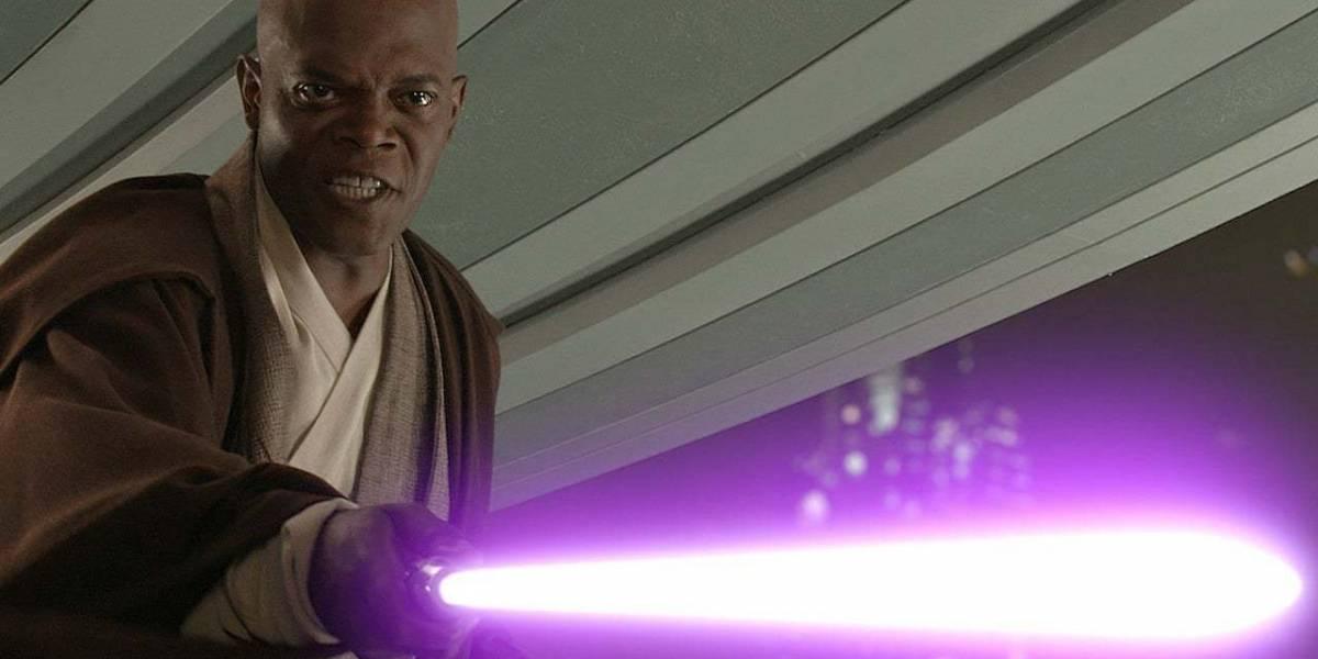 Así fue como Samuel L. Jackson consiguió que su Sable de Luz fuera morado en Star Wars