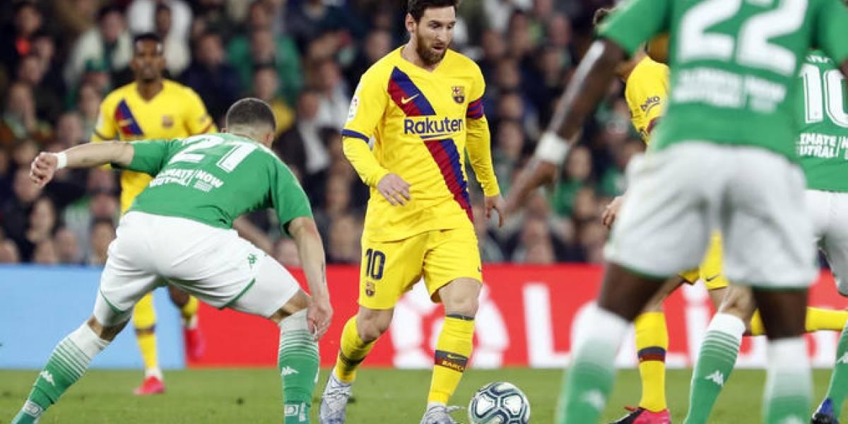 ¿Messi es un líder o no? La arenga del argentino en el Betis vs Barcelona