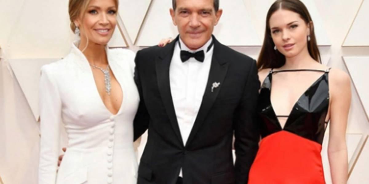 Hija de Antonio Banderas acaparó todas las miradas en la alfombra roja de los Oscar 2020 al lucir el look más sexy