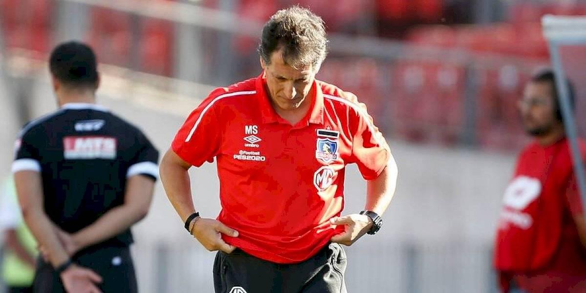 """Mario Salas tiene un irregular registro en clásicos que pone en duda la """"certeza de un triunfo"""" de Colo Colo ante la UC"""