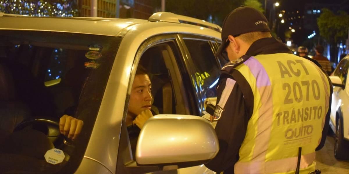 Quito: 24 personas retenidas por manejar en estado de embriaguez durante le fin de semana
