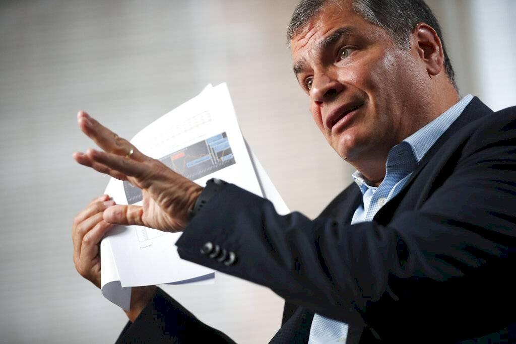 El lunes 10 de febrero empezó el juicio contra Rafael Correa respecto al