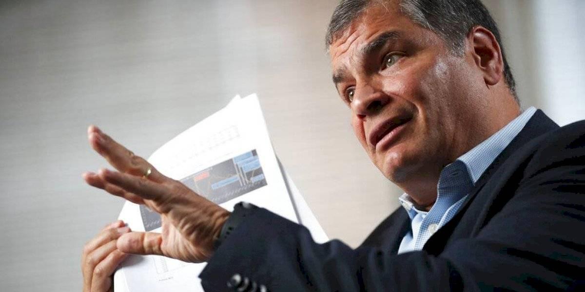 """Rafael Correa: """"están desesperados para evitar mi participación en las próximas elecciones"""""""
