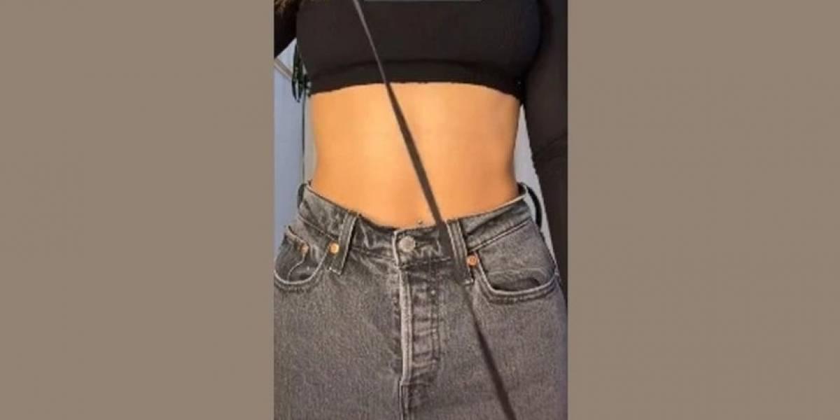 Vídeo de técnica para ajustar jeans na cintura sem costura se torna viral nas redes sociais