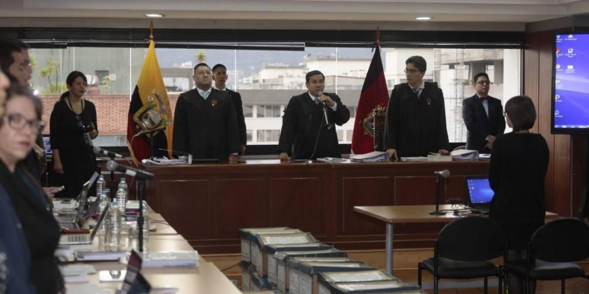 Caso Sobornos: Se rechaza la demanda de recusación presentada por la defensa de Rafael Correa