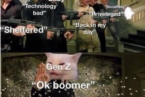 """""""OK, boomer"""", comentario que invade las redes sociales"""