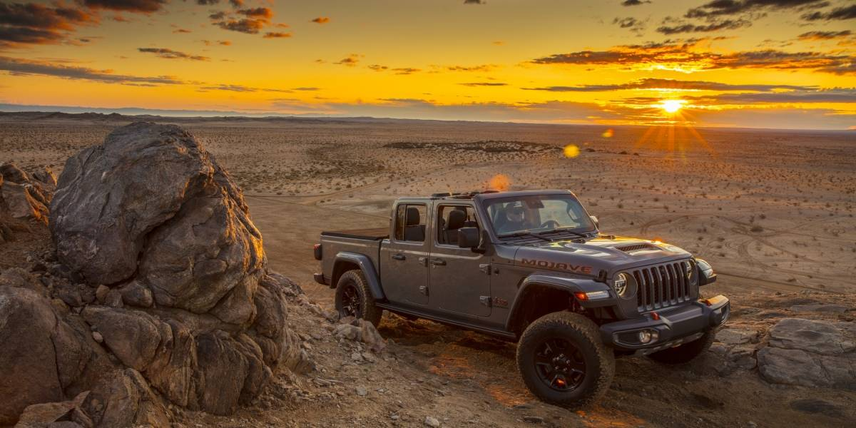 Com selo Desert Rated, Jeep apresenta Gladiator Mojave no Salão do Automóvel de Chicago