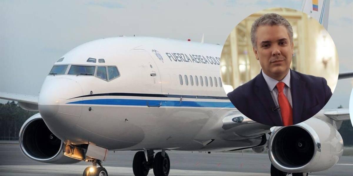 Denuncian uso de avión presidencial para trasladar invitados de la fiesta de cumpleaños de hija Duque