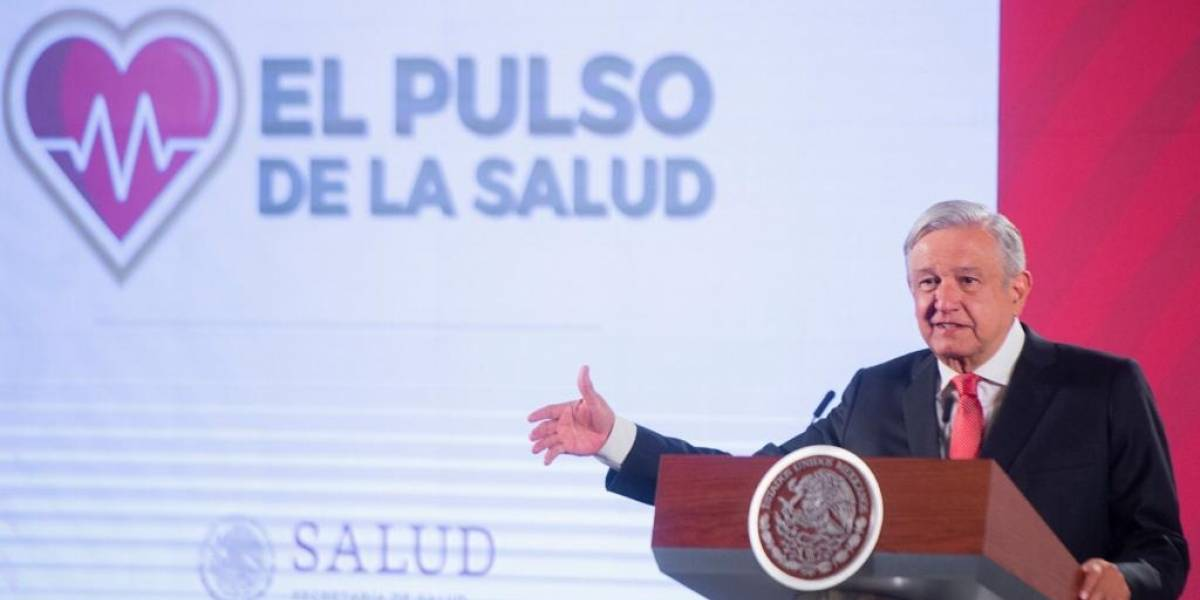 AMLO promete nuevo sistema de salud el 1 de diciembre de 2020
