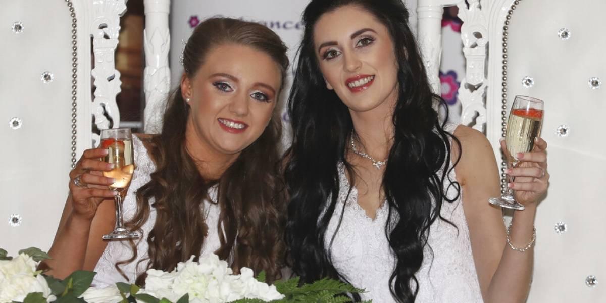 Irlanda del Norte celebra su primer matrimonio gay