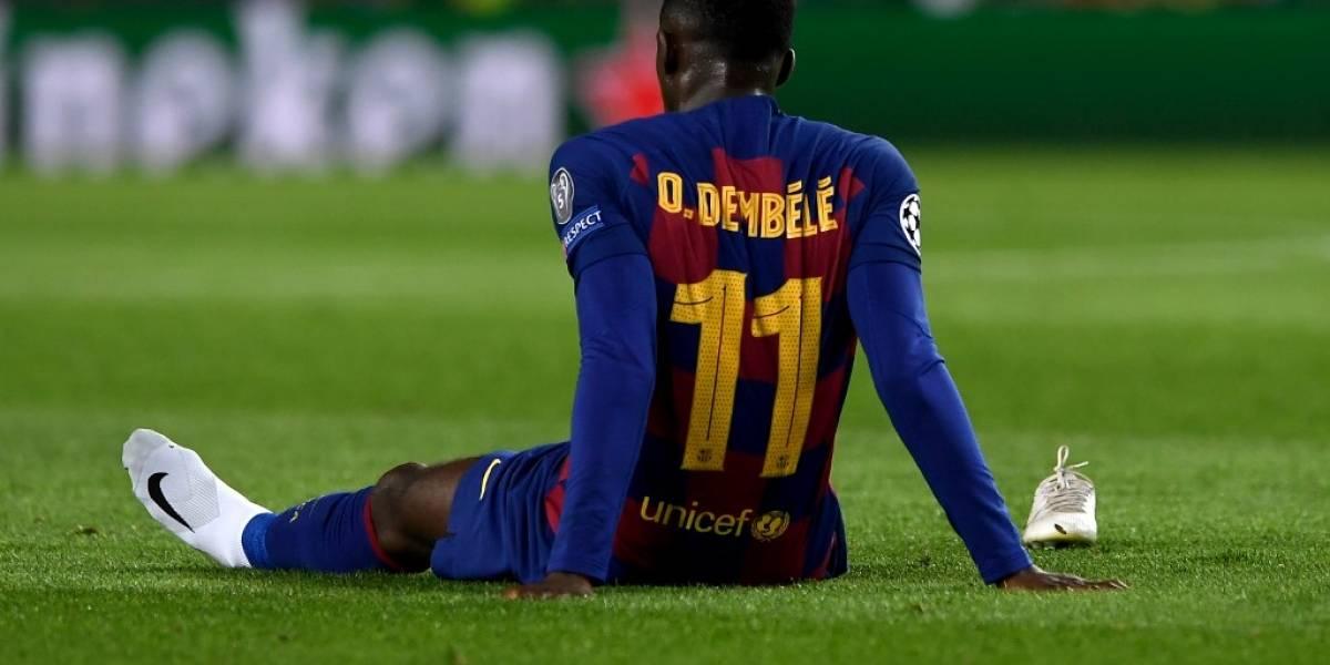 Dembélé, seis meses de baja; Barça abre operación fichaje
