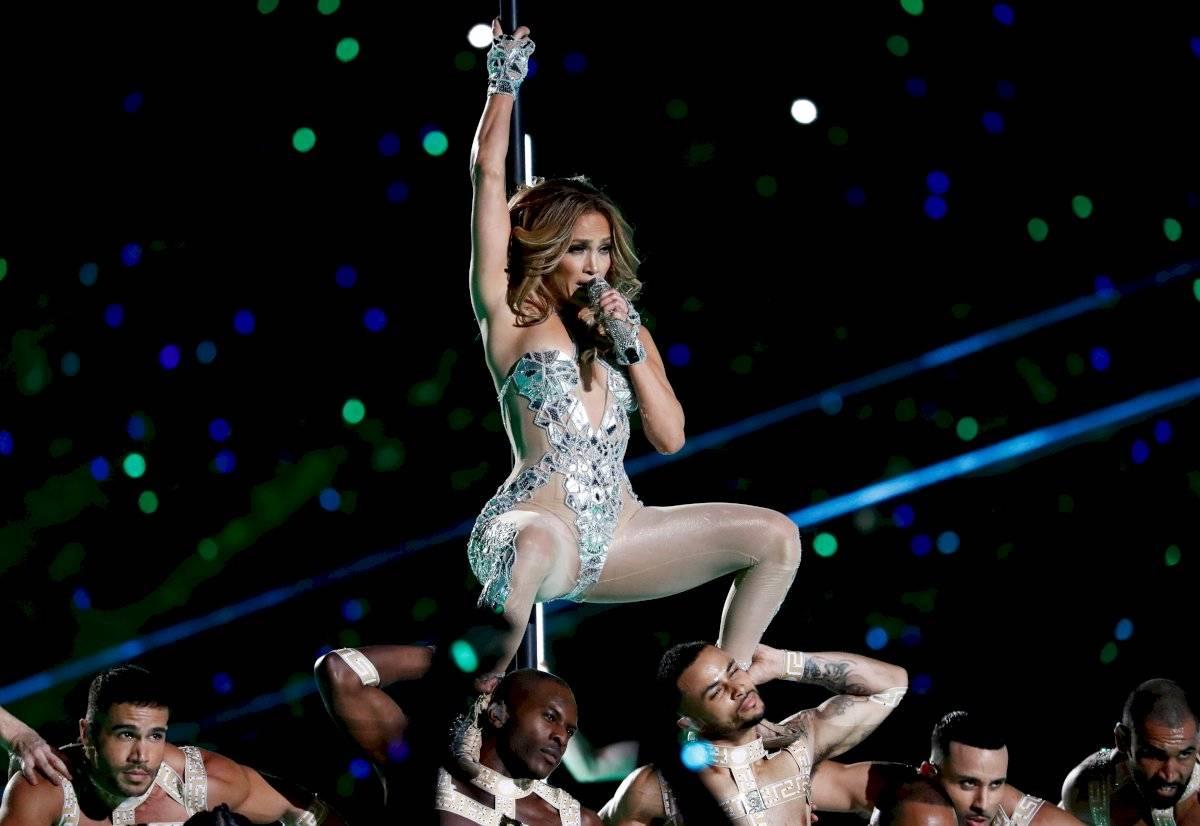 Jennifer Lopez en el Super Bowl