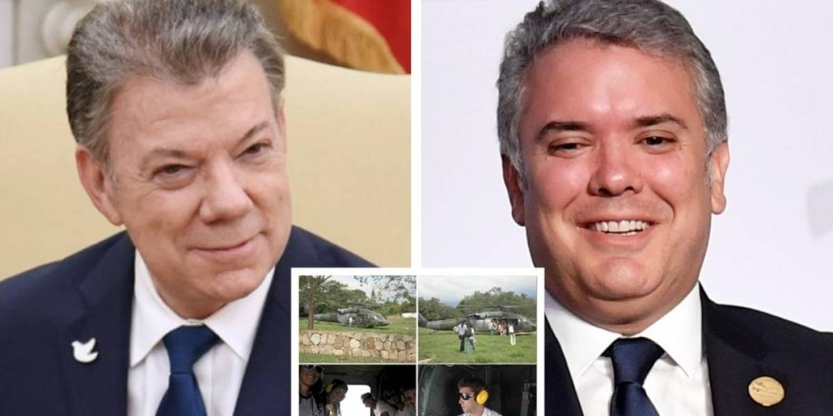 El caso de Santos y el uso aeronaves oficiales para sus hijos y amigos que salvaría a Duque