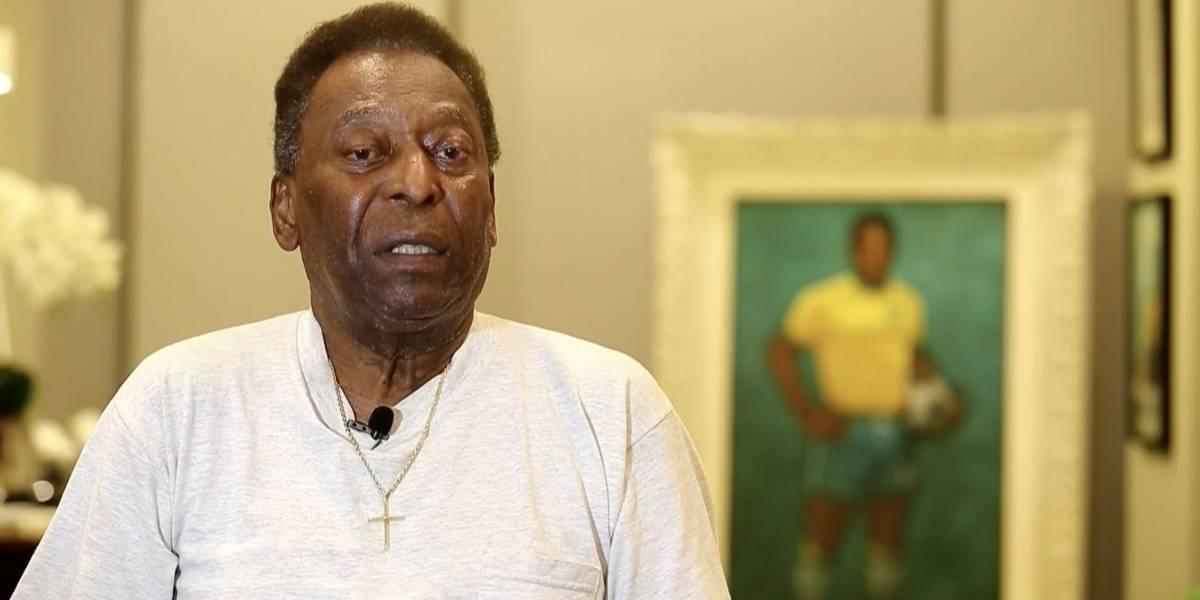(Video) ¿Con depresión? Pelé no está en su mejor estado de salud según su hijo