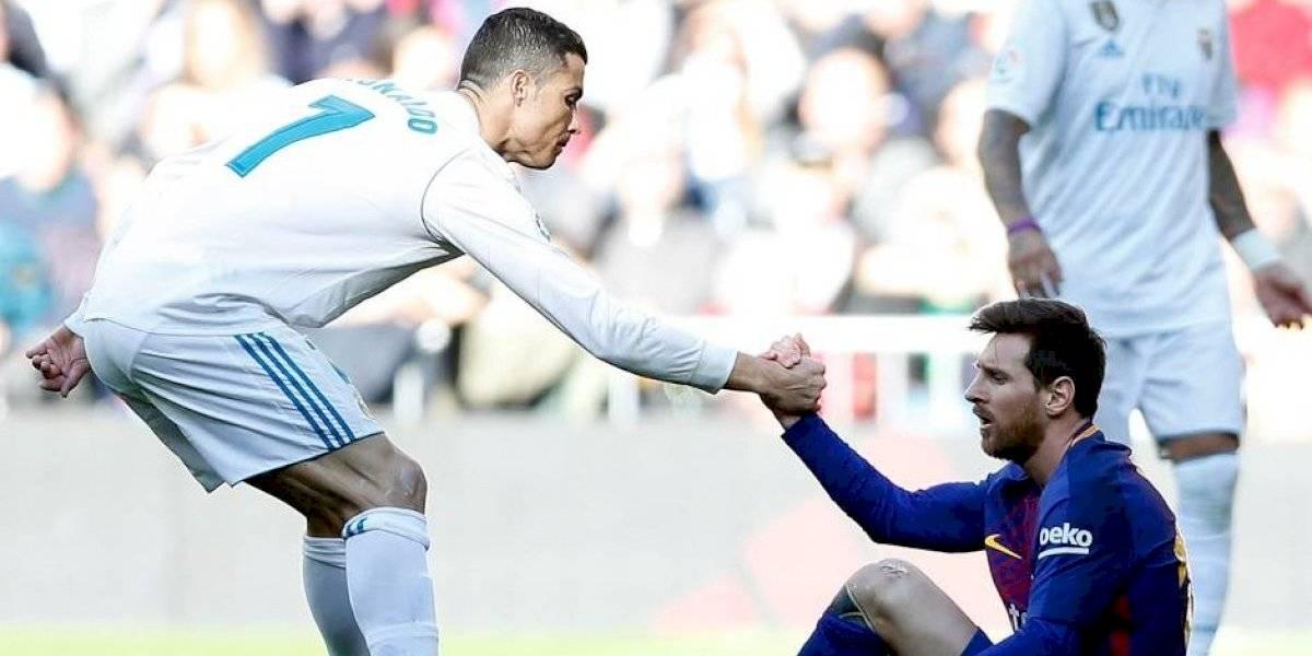 La crisis del Barcelona podría cumplir el sueño del fútbol mundial de unir a Messi y Cristiano Ronaldo en el mismo equipo