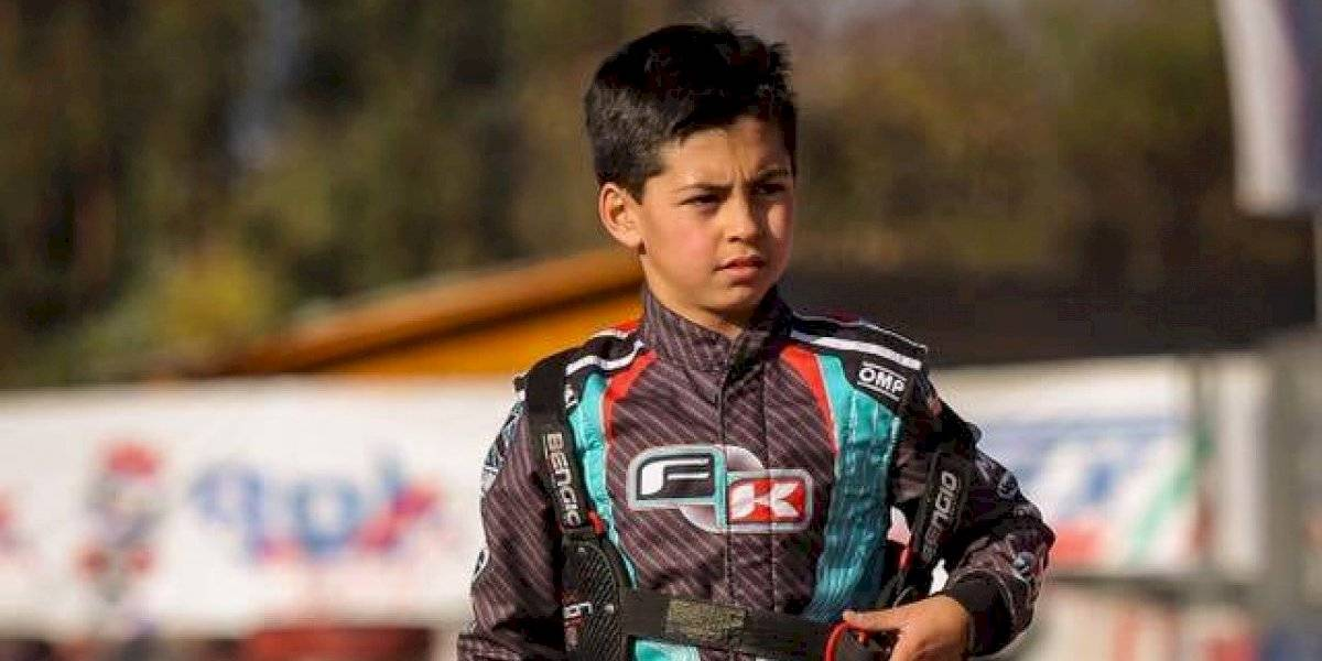 Cristián Pastrián: El piloto chileno de 13 años va por la gloria en el CIK FIA Academy Throphy